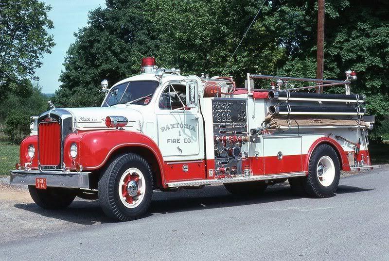 Old Mack Fire Trucks : Old mack fire trucks gallery