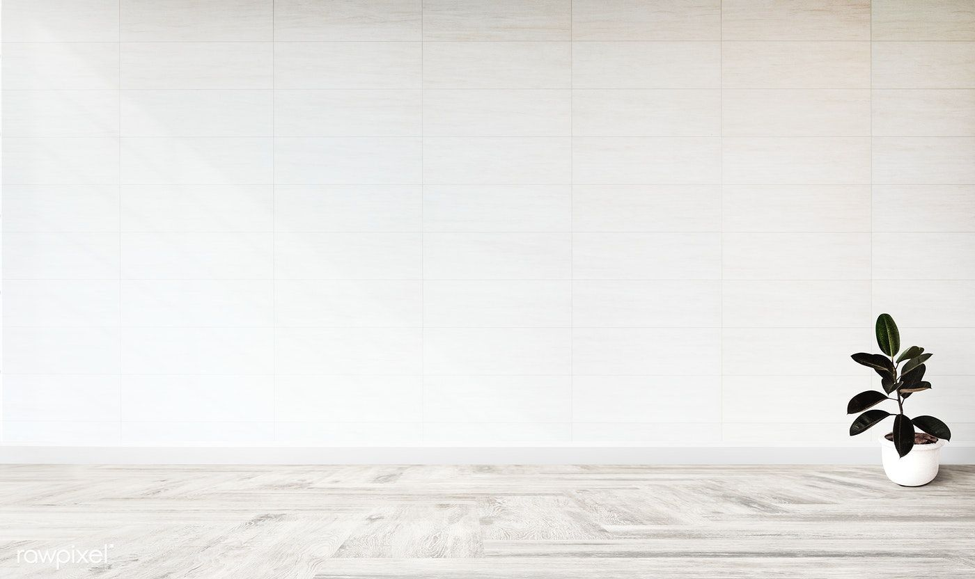 White Empty Room With A Plant Wall Mockup Free Image By Rawpixel Com Empty Room Plant Wall Design Mockup Free