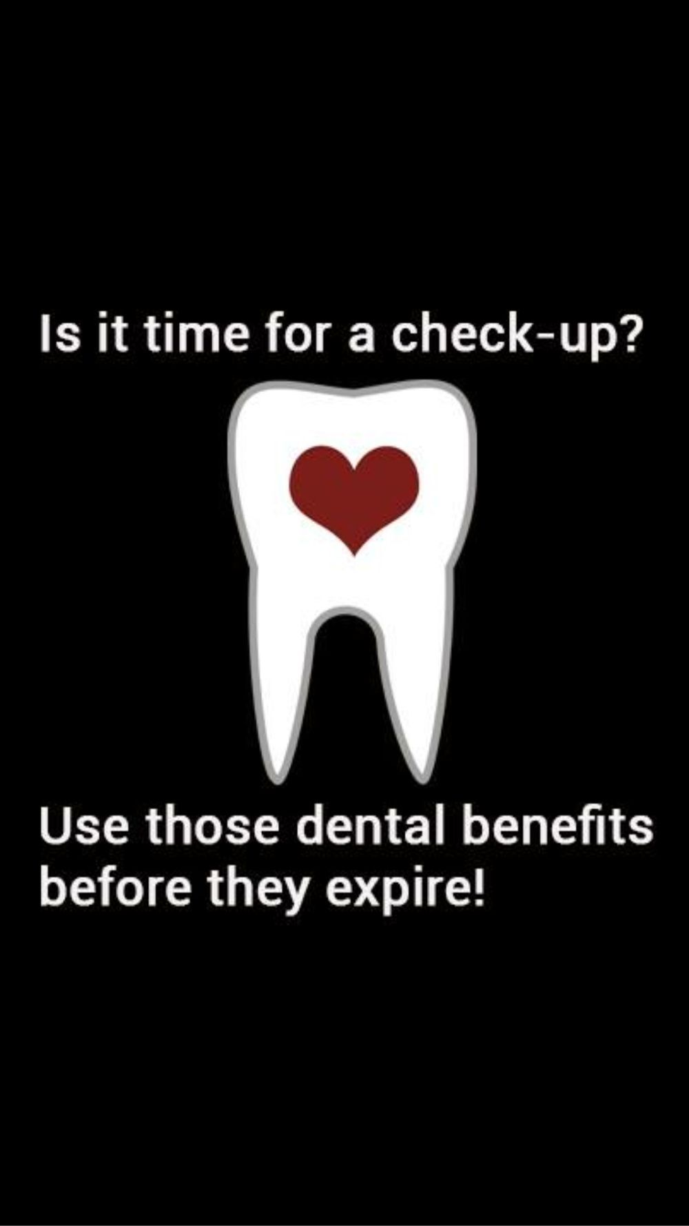 USE IT OR LOOSE IT DENTAL BENEFITS DONT HAVE INSURANCE