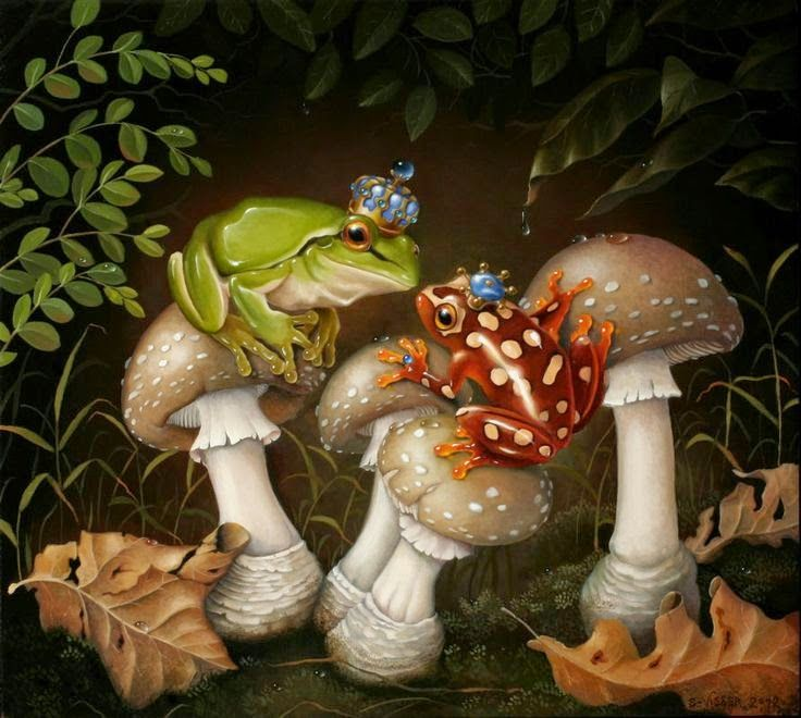 Загрузить, грибы открытки