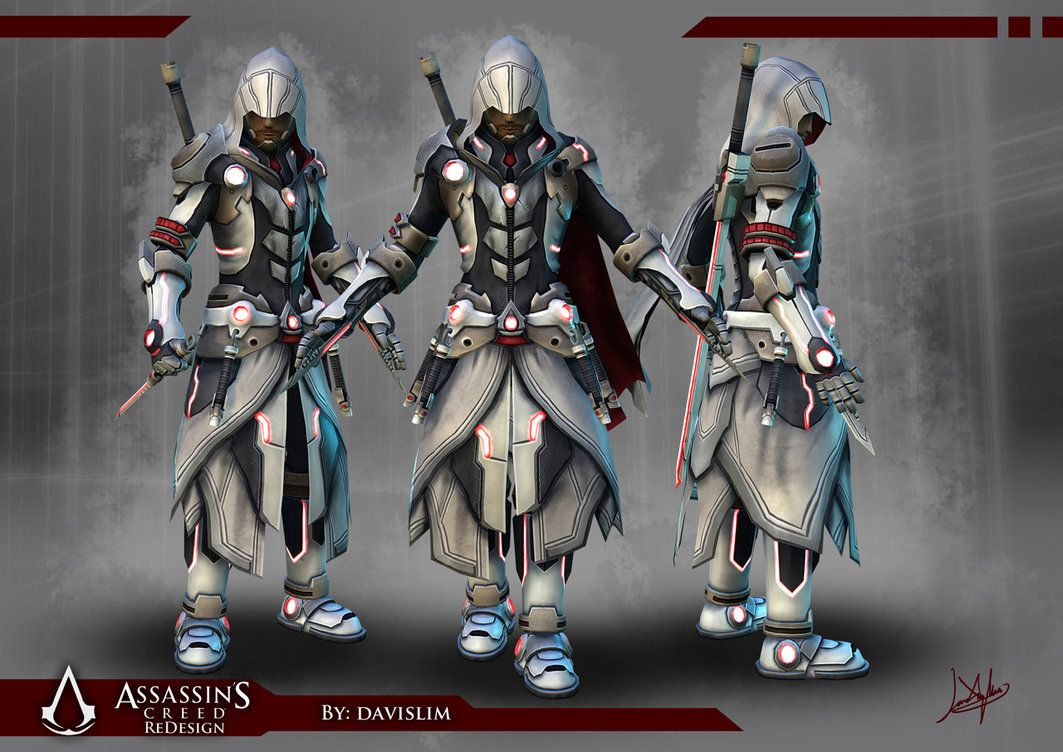 Assassin S Creed Redesign Beauty Shot By Davislim Assassins