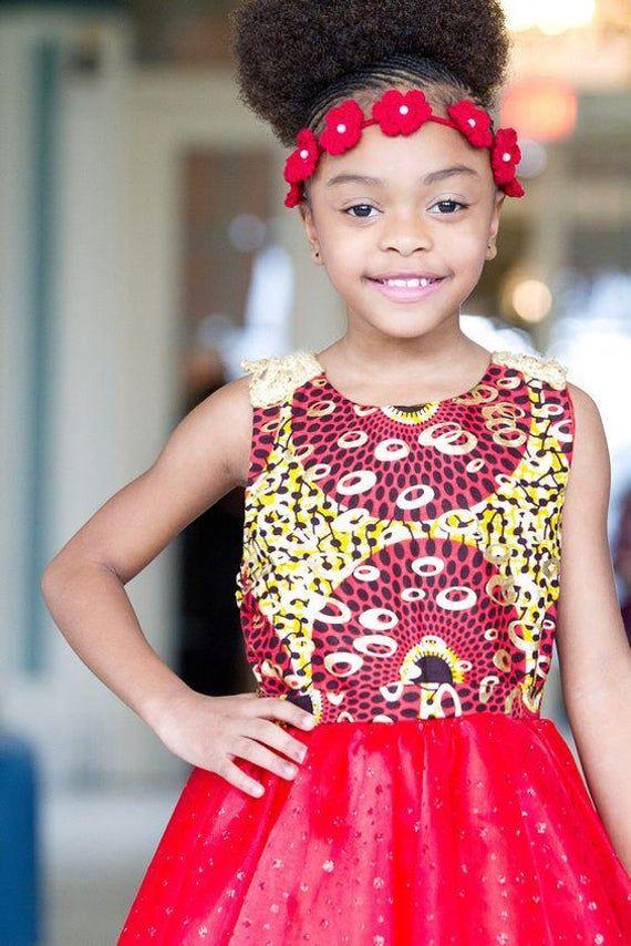 Red Sparkle Dress, Red African Dress, Liputa Dress, Ankara Dress, Kitenge Dress, African Print Dress, Ankara Red Dress, Red Organza Dress #afrikanischeskleid