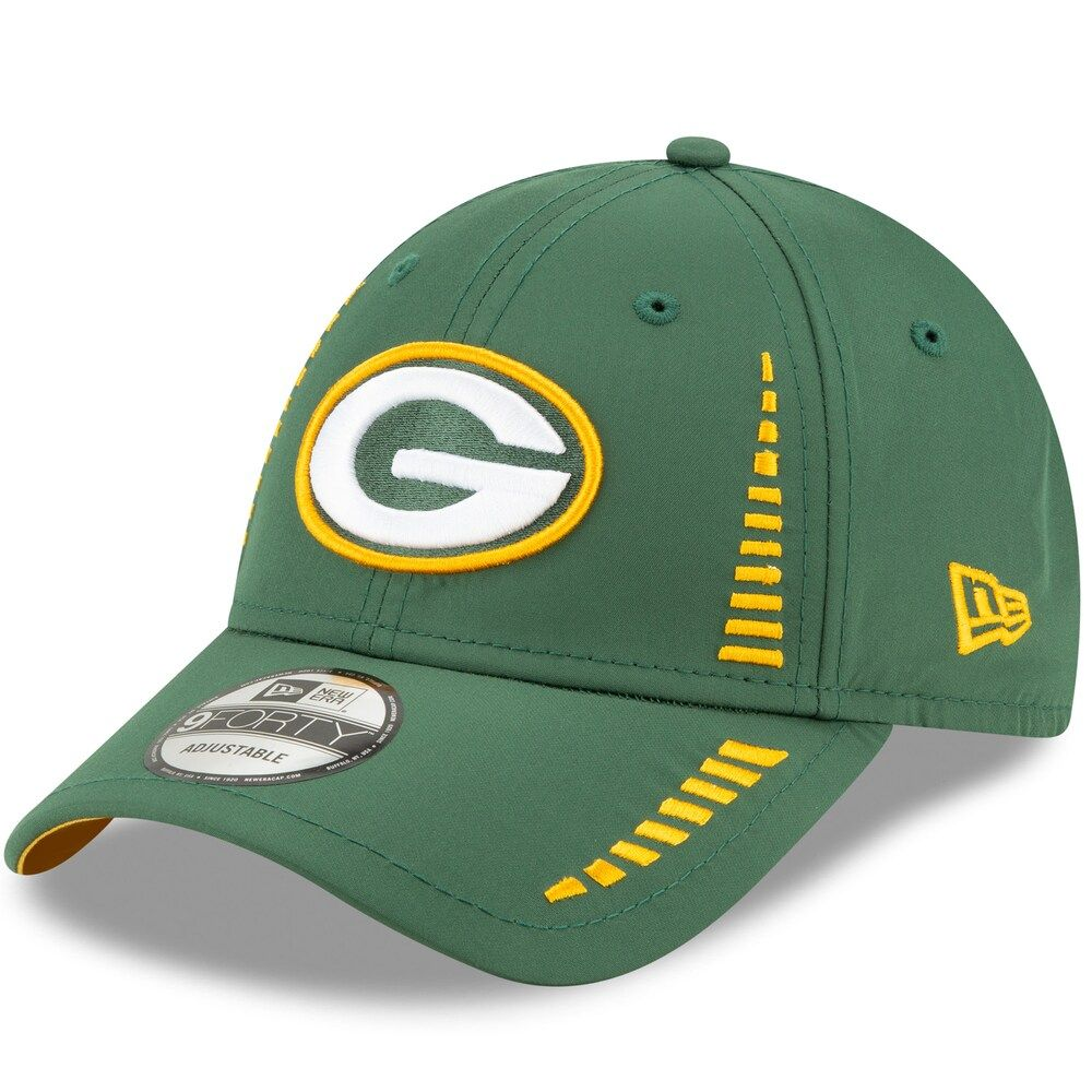 Men S New Era Green Bay Packers 9forty Speed Cap New Era Packers Hat Adjustable Hat