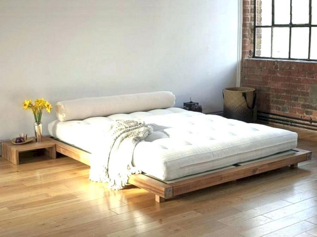12 Best And Wonderful Minimalist Bedroom Design With Less Is More Concept Freshouz Com Minimalist Bed Japanese Style Bed Japanese Bed Frame