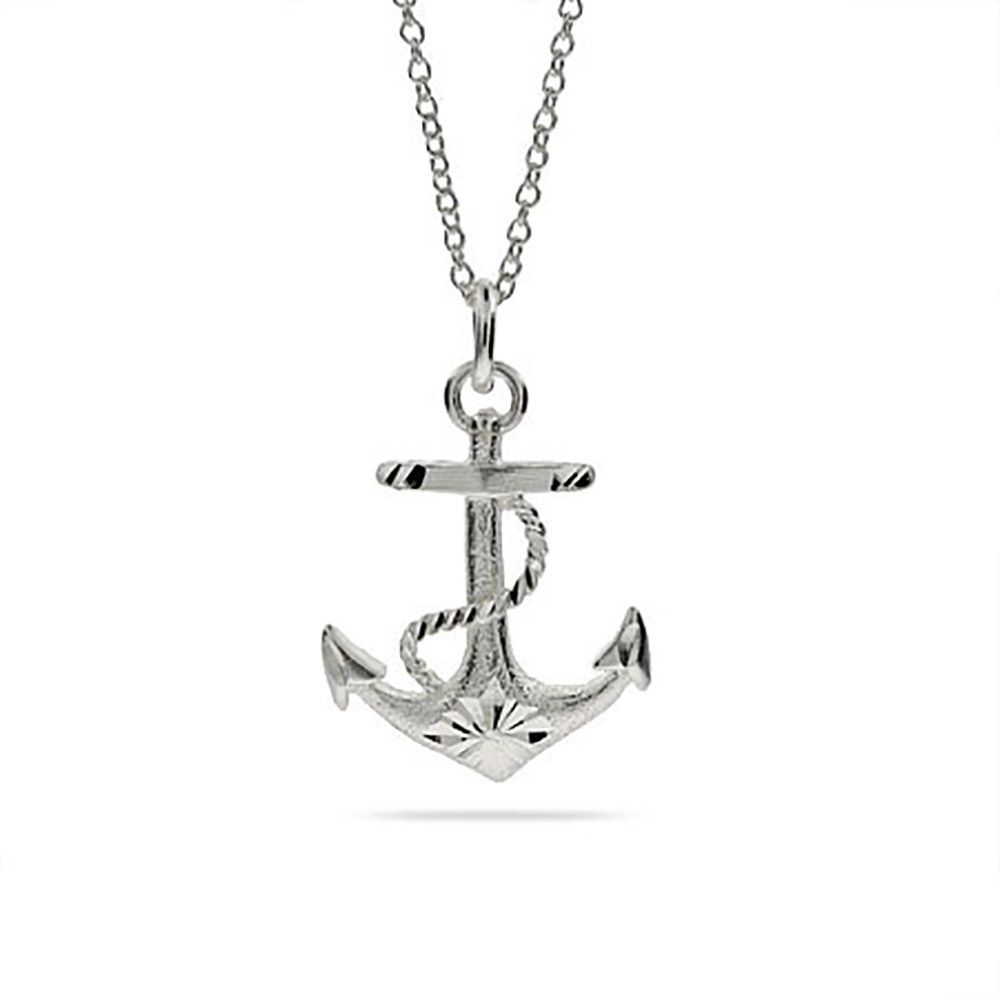 Stay afloat with the latest fashion with the anchors away sterling stay afloat with the latest fashion with the anchors away sterling silver anchor necklace aloadofball Images