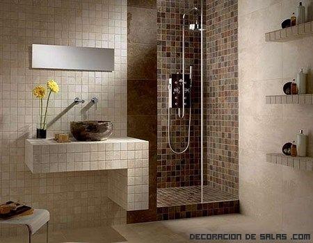 decoración original para baños | diseños baños | pinterest | baño ... - Decoracion De Interiores Banos Pequenos