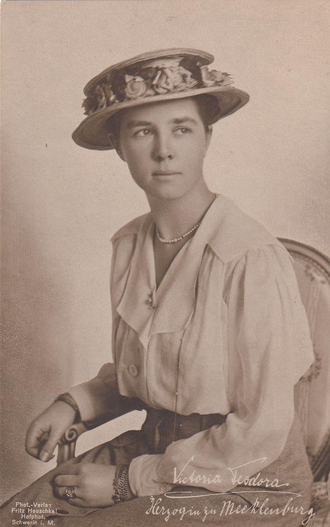 Princesa Victoria Feodora De Reuss Schleiz Primeira Esposa Do
