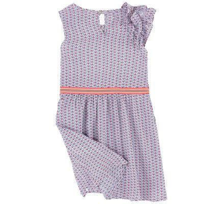 Ikks - Robe imprimée à volants - 204920 | robe | Pinterest