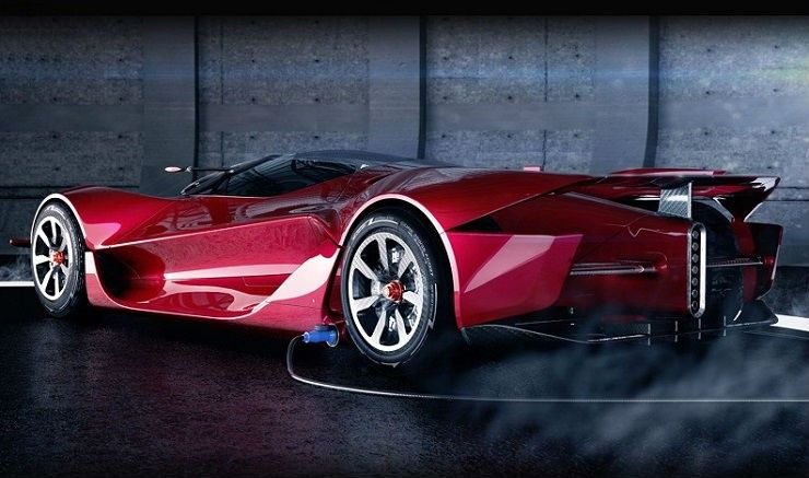Dendrobium Electric Hypercar AUTO/MOTO Vehicles, Super