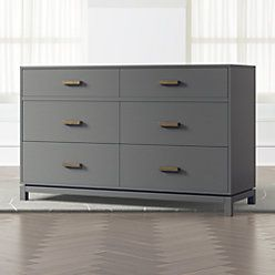 Kids Parke Charcoal Nightstand In 2020 Dresser Drawers