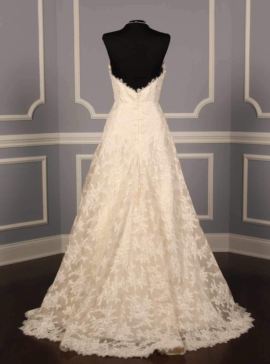 Liancarlo couture wedding gown the corded chantilly lace with
