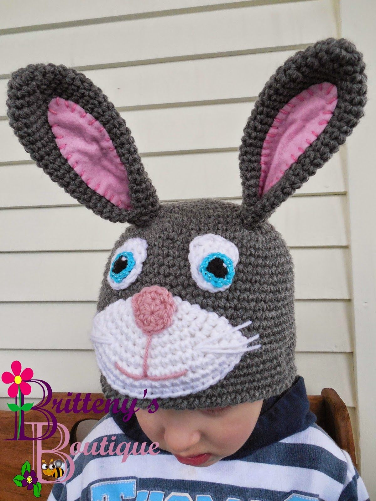 Nice Rabbit Hat Crochet Pattern Image Collection - Easy Scarf ...