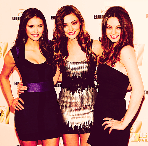 Nina Dobrev Phoebe Tonkin And Mila Kunis Girl Crushes Vampire Diaries Wonder Woman