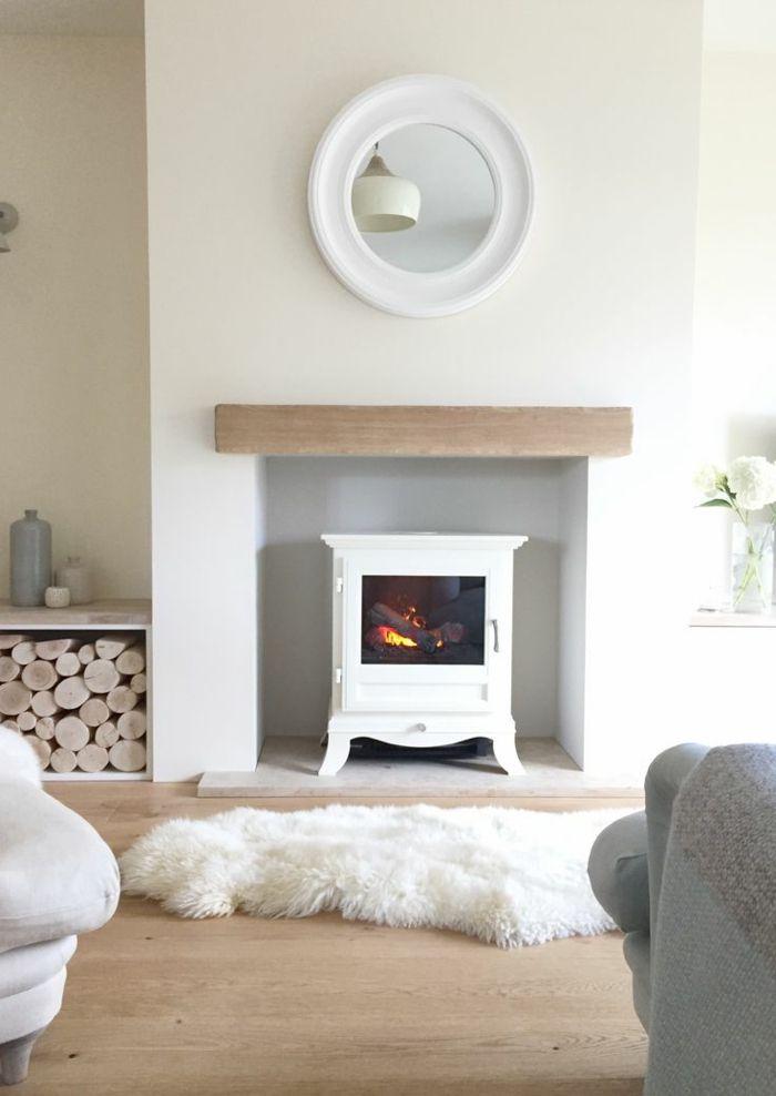 ▷ 1001+ ideas sobre salones acogedores con chimeneas de leña Home