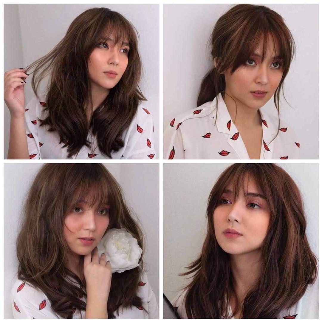 Kathryn Bernardo Hair Color For Morena Hair Color For Morena Skin Kathryn Bernardo Hairstyle