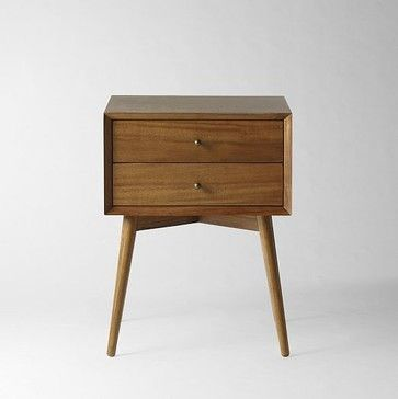 Midcentury Nightstand Acorn This Wooden Would Add Some Warmth To The Bedroom