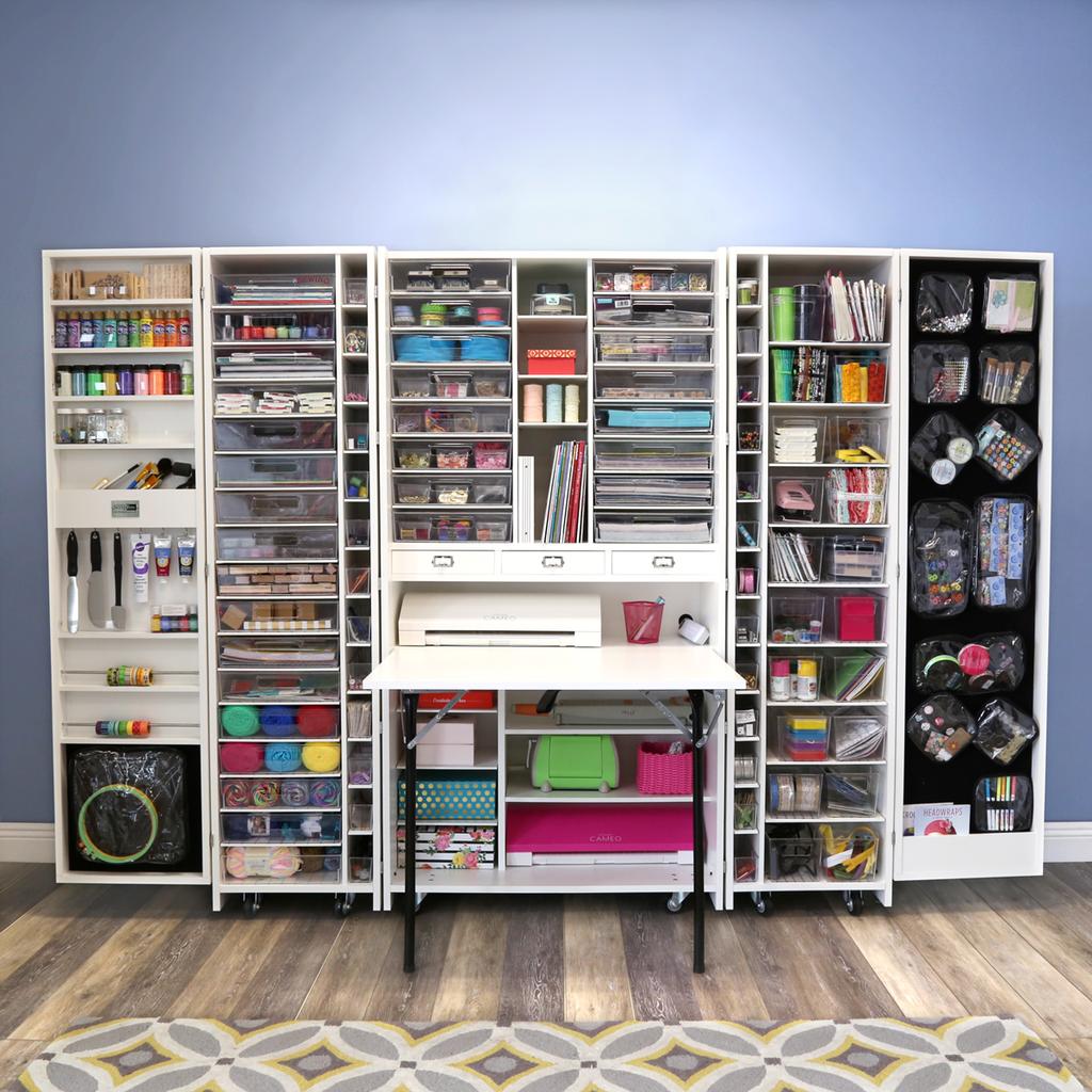 Sew Station Craft Storage Cabinets Craft Room Craft Storage