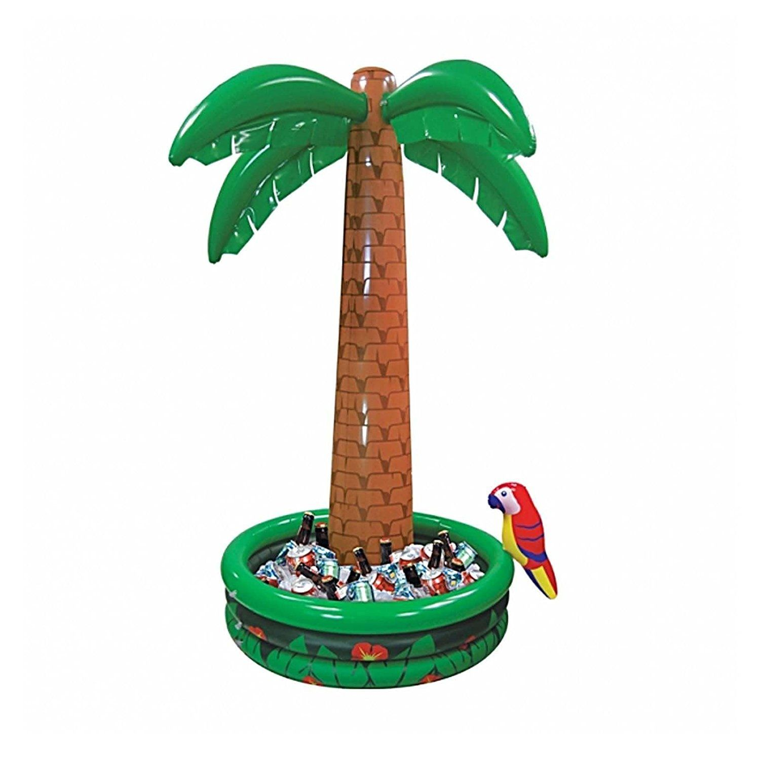 Inflatable Palm Tree Decor Hawaiian Jungle Luau Tropical Birthday Party Event