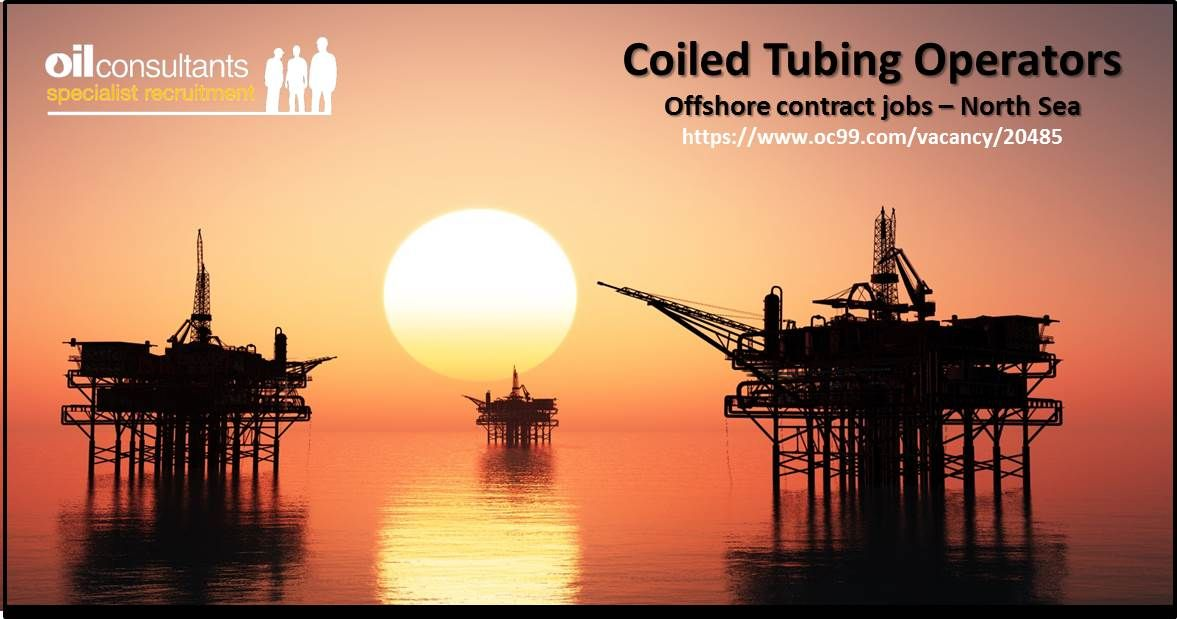 Offshore Contract Jobs in UK North Sea for Coiled Tubing