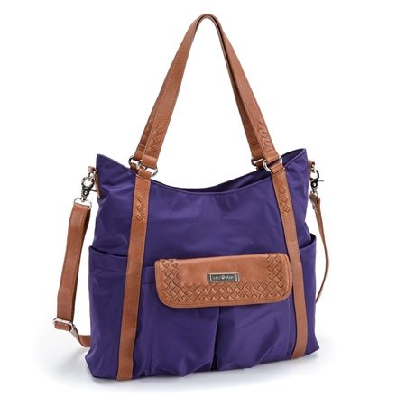 Lily Jade Designer Diaper Bag Giveaway $179 value (I use it for my laptop!) Enter by 8/4