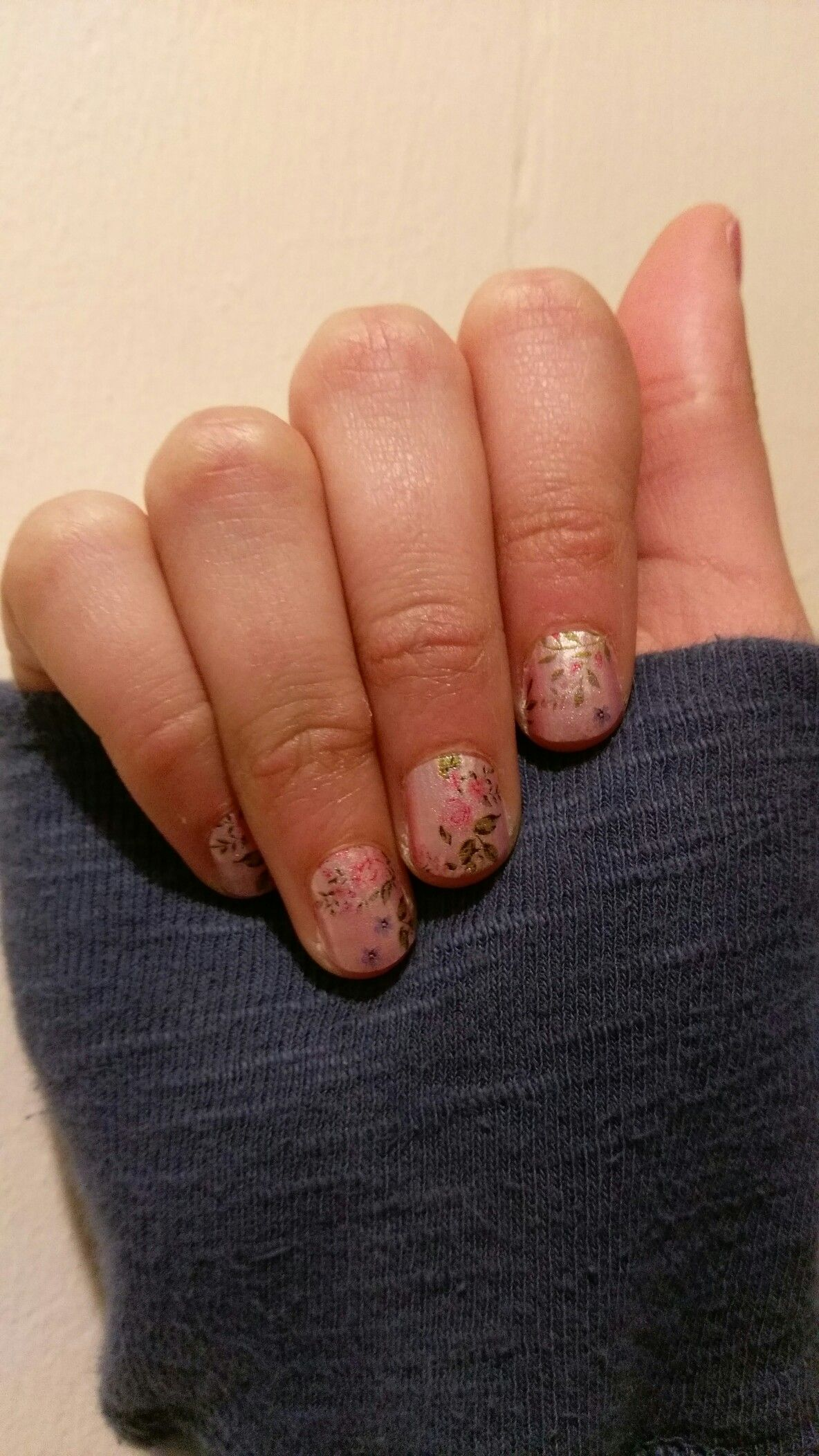 Color Street Early Blooms Acrylic nail courses, Nail
