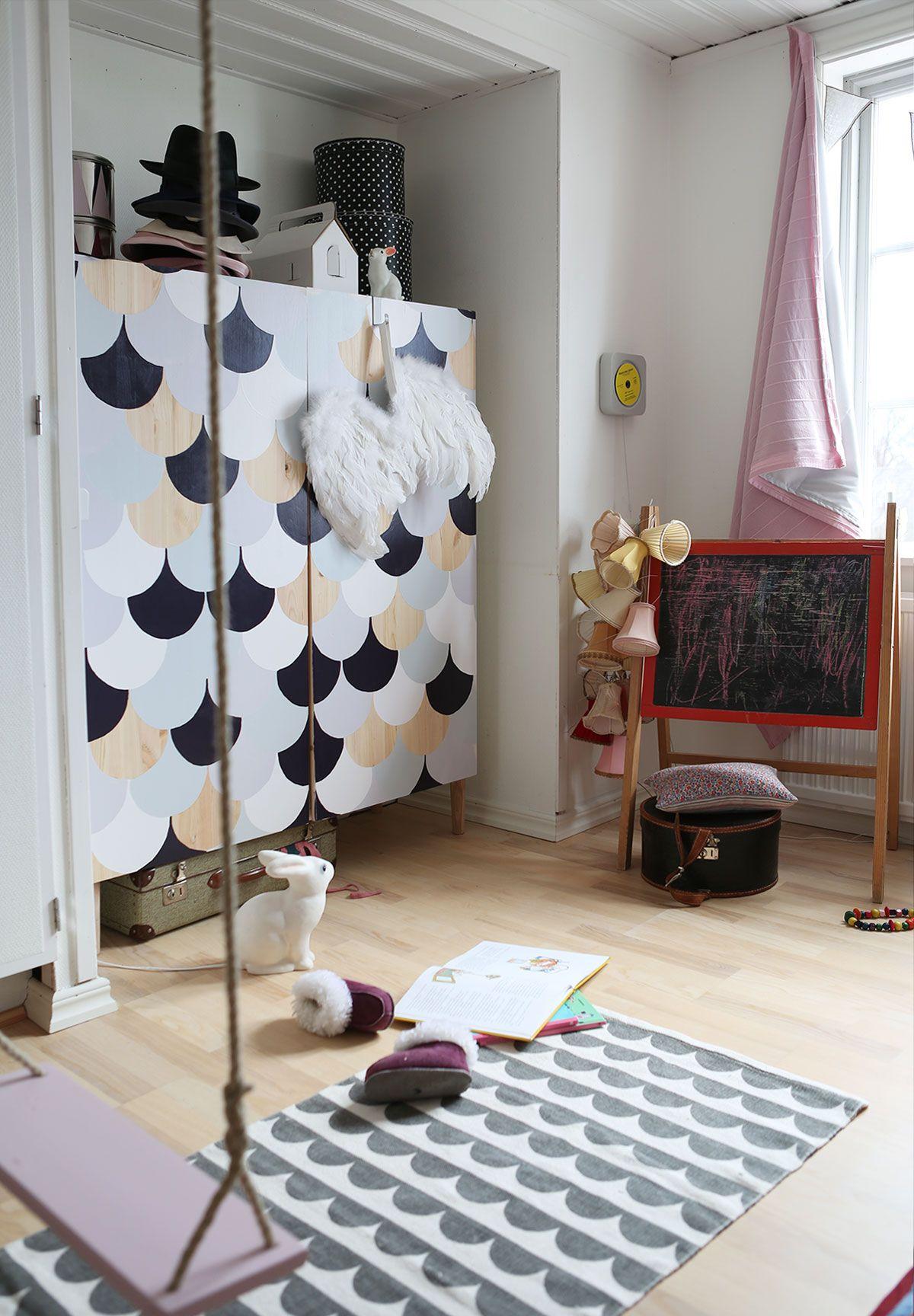 Junior hallway ideas  Sponstrat inlägg Skåpets minimakover u Rum Hemma  Bedroom ideas