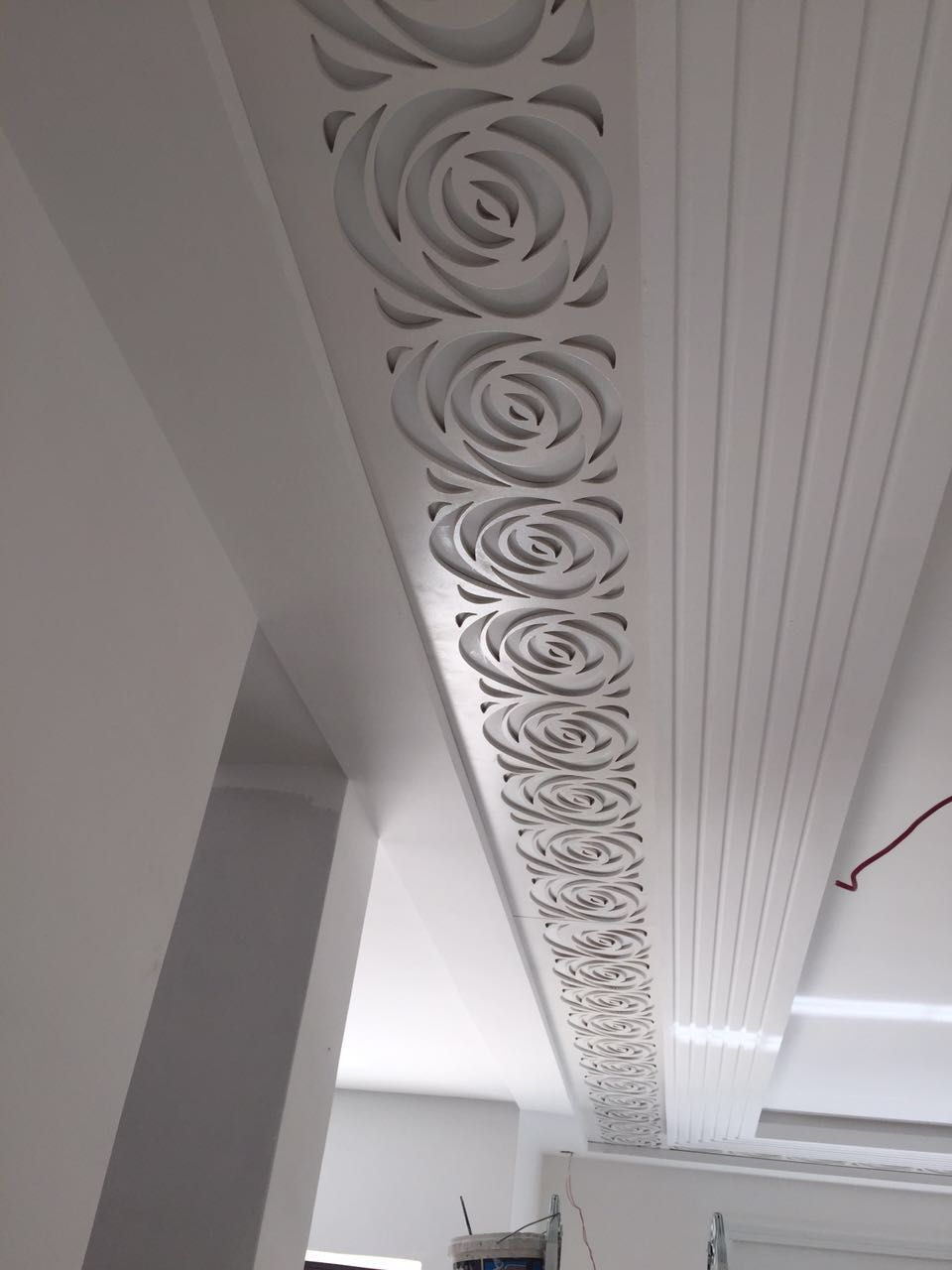 False Ceiling Ideas Design Bedroom Treatments Hallway Decorating Dining Room Modern Cornice Drywall