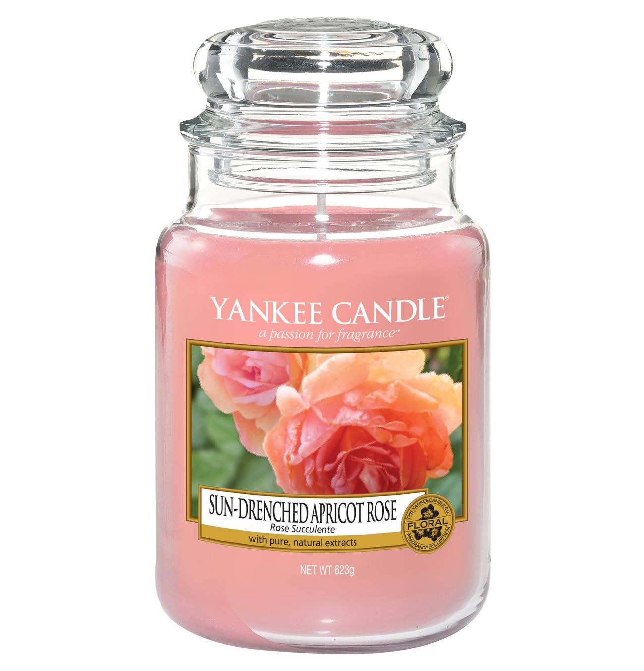 Apricot Rose Jar L Kerzenglaser Duftkerzen Und Kerze Im Glas