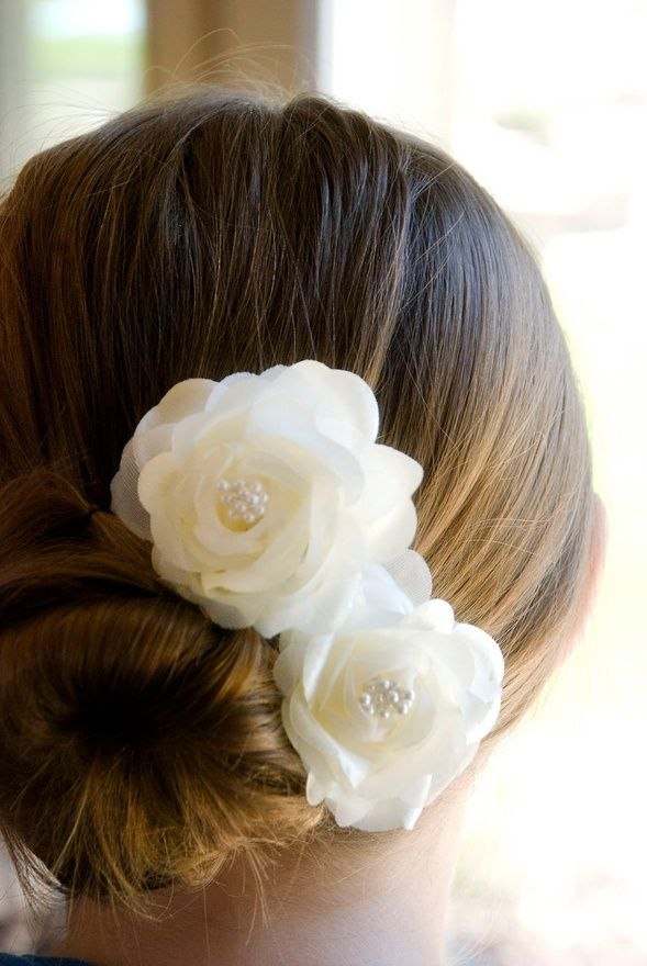 Wedding Hair Flowers Vintage Wedding Hair By Krumpetsweddings