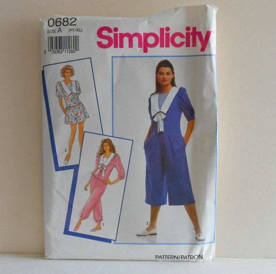RomperDress in Three Lengths Womens Size 6 to 24 by filecutter, $3.25