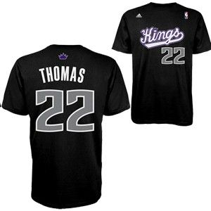san francisco f65d0 0b4ad Sacramento Kings Isaiah THOMAS Game Time T-Shirt from Adidas ...