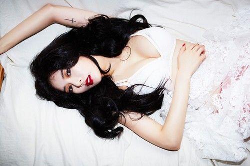 Top 10 Sexiest Camera Moments By Hyuna Hyuna Red Kpop Girls Women