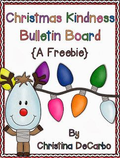 Christmas Kindness Freebie! - Miss DeCarbo