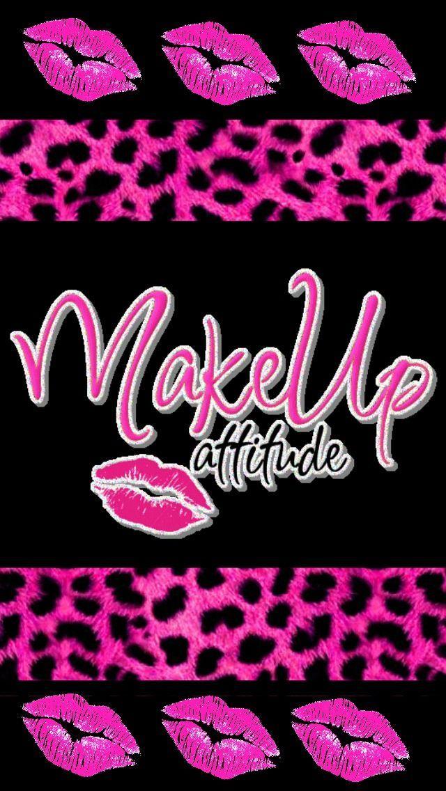 Kisses Black Pink And Girly Image Girly Images Lip Wallpaper Pink Zebra Wallpaper