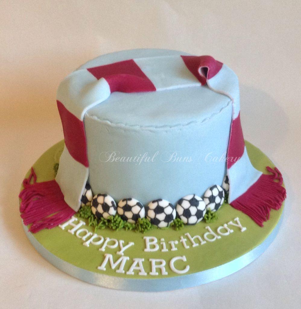 Aston Villa Cake Paul Cakes Football Cake Sloth Cakes