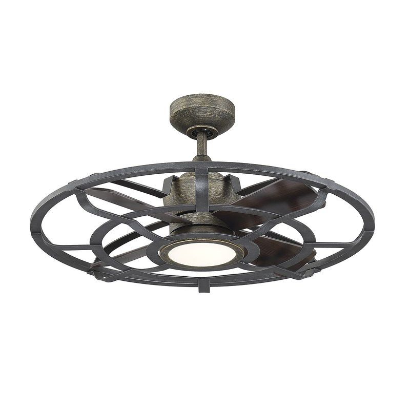 22 Gutirrez D Lier 4 Blade Led Ceiling Fan With Remote In 2019