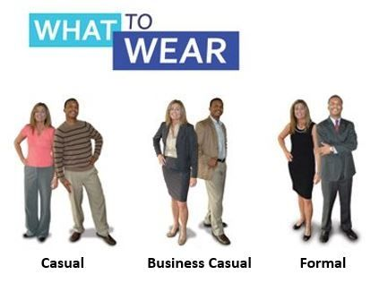 Workplace Attire The Difference Between Casual Business