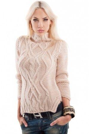 5cc9bd8ab22 Свитер Zara с горлом — Женские свитера и вязаные кофты