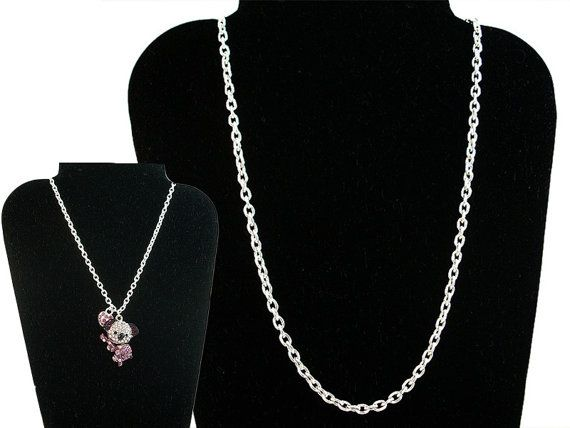 Silver Necklace Chain by MarvelousCouture on Etsy, $10.99