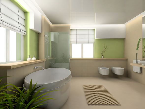 Wandgestaltung badezimmer