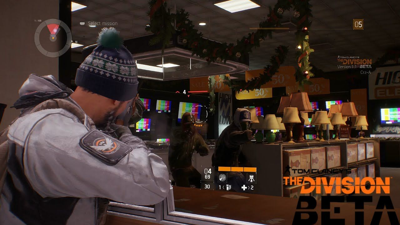 The Division Gameplay Multiplayer BETA PS4 1080p (Tom