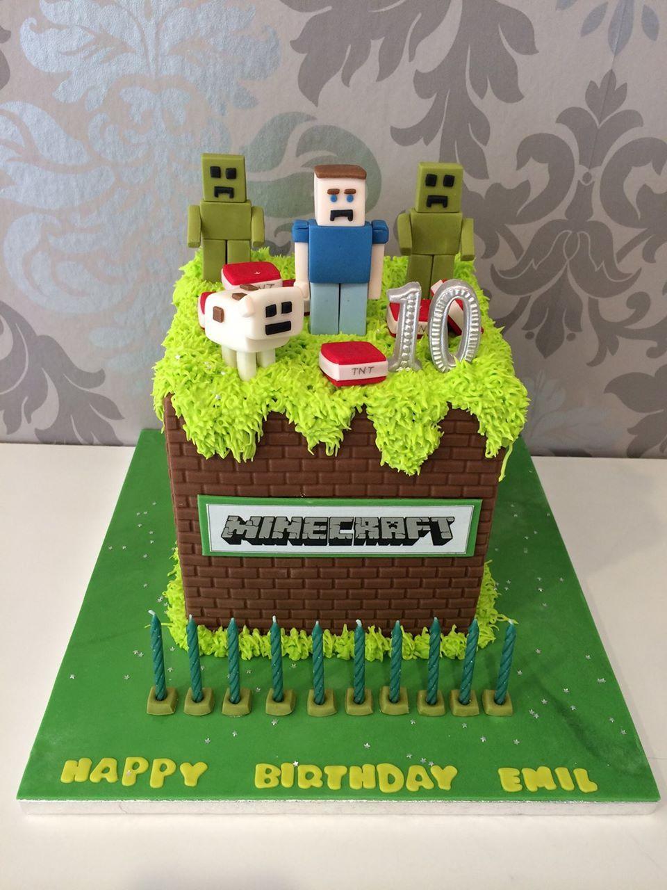Minecraft Torte Cupcakes Manufaktur Wien Essen
