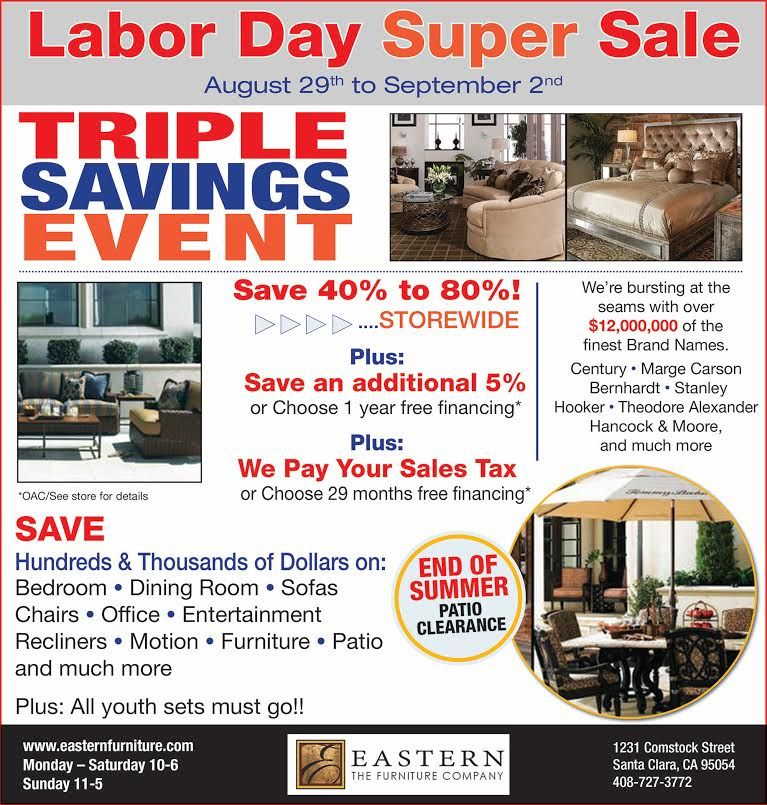 Furniture Sales This Weekend: We're Having A Labor Day Super Sale This Weekend! Save 40