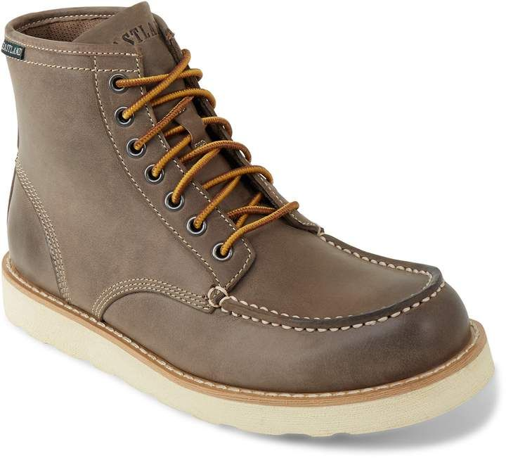 Mens leather boots, Eastland shoes
