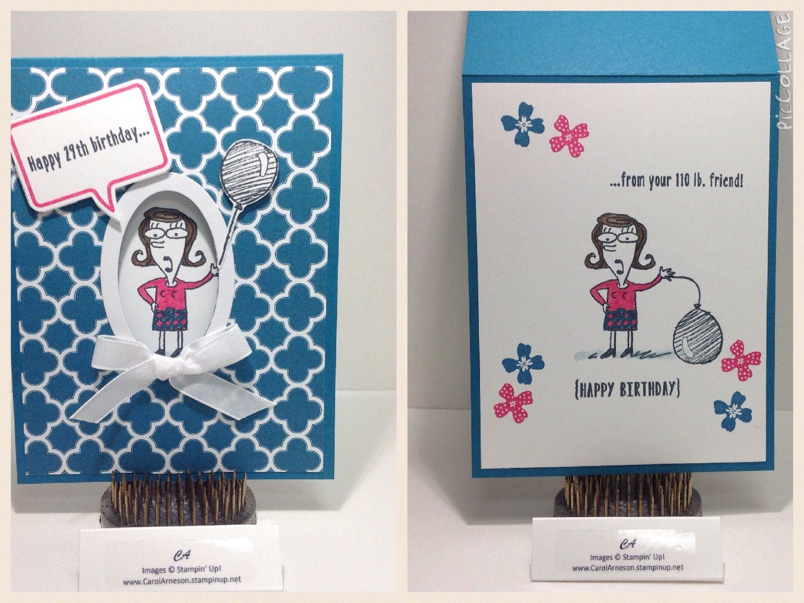Just Kidding Www Carolarneson Stampinup Net Workshop Cards