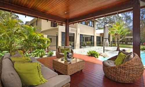 Gazébo et abri soleil : des idées pour jardin avec piscine   Hanks ...
