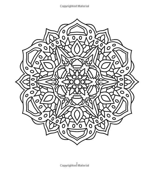 The Mandala Coloring Book: Inspire Creativity, Reduce