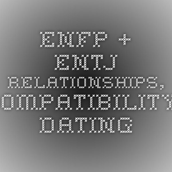 Estj enfp dating another enfp