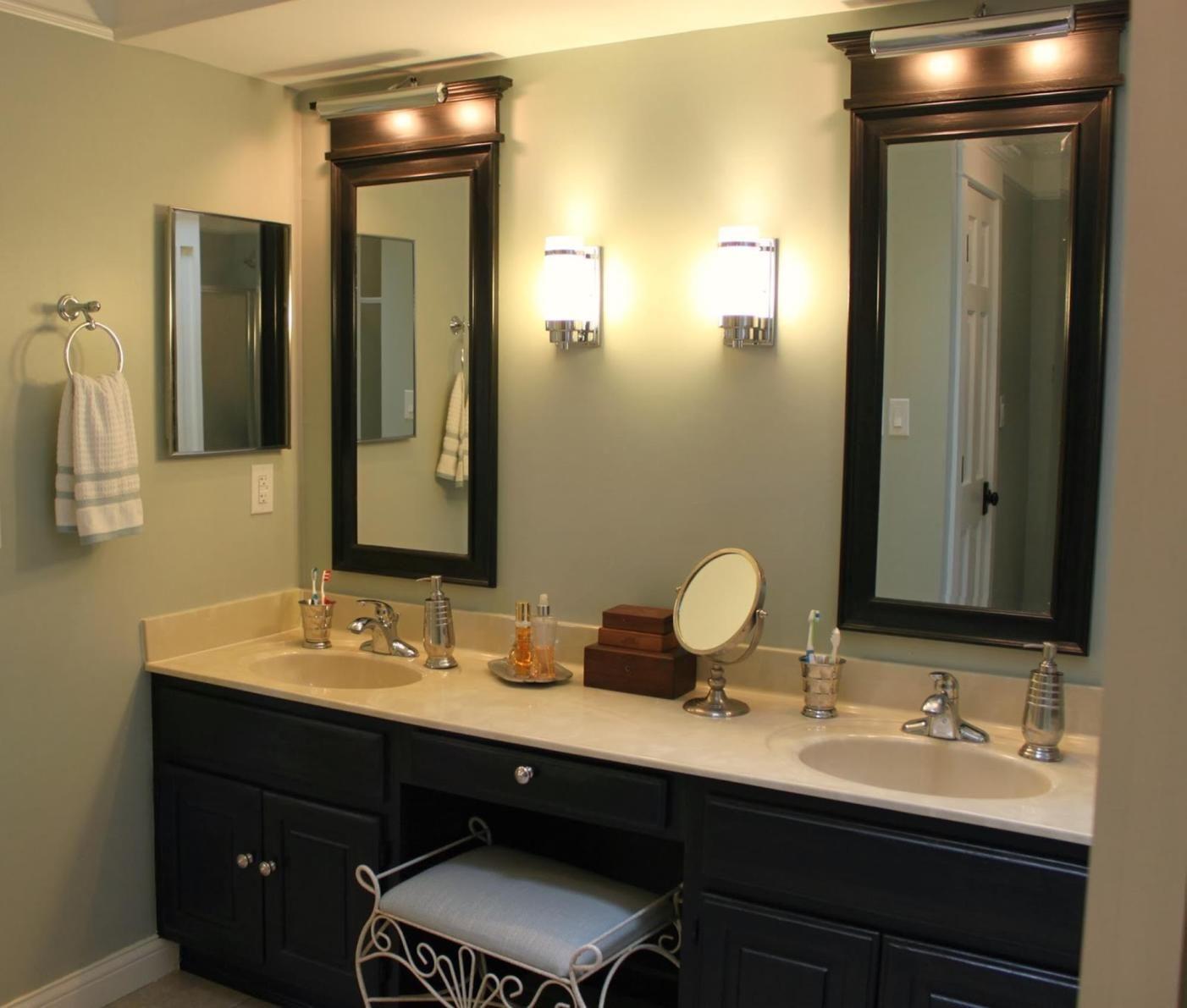 35 Stunning Bathroom Vanity Mirrors With Light Designs Beautiful Bathroom Vanity Modern Bathroom Light Fixtures Bathroom Sconce Lighting