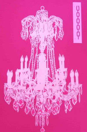 Chandelier stencil things i like pinterest deberes chandelier stencil aloadofball Image collections